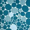 Scandinavian Fabric - Spira Bubbla Blue