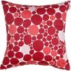 Spira Bubbla Red Cushion