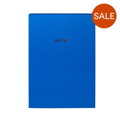 Colourblock A5 Notebook - Royal Blue
