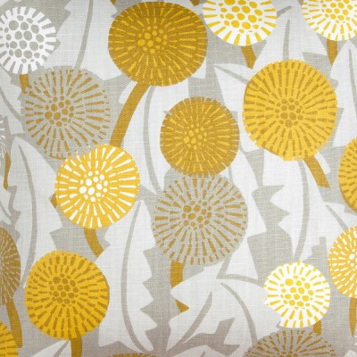 Scandinavian Fabric - Spira Maskros Yellow