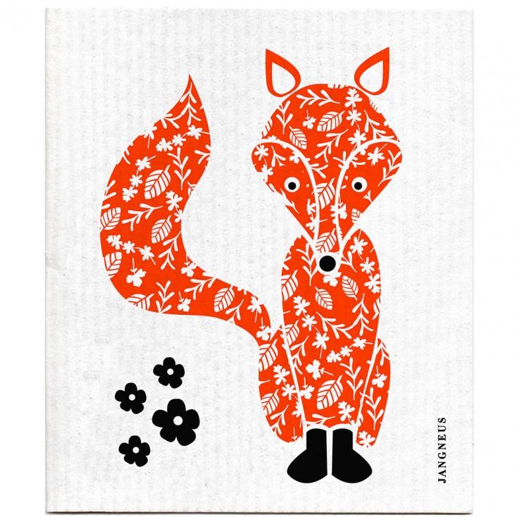 Jangneus Dishcloth - Orange Fox