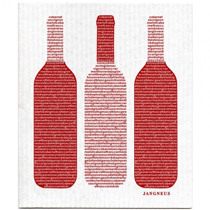 Jangneus Dishcloth - Red Wine