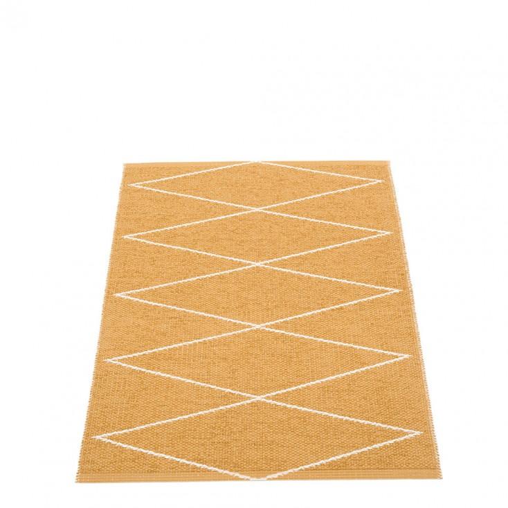 Pappelina Max Runner Ochre & Vanilla - 70 x 100 cm