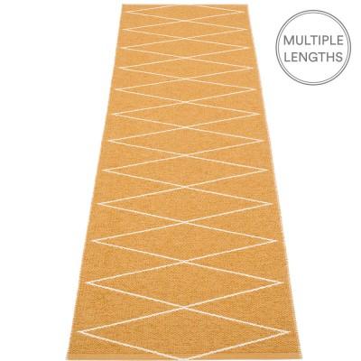 Pappelina Max Runner Ochre & Vanilla - 70 x 240 cm
