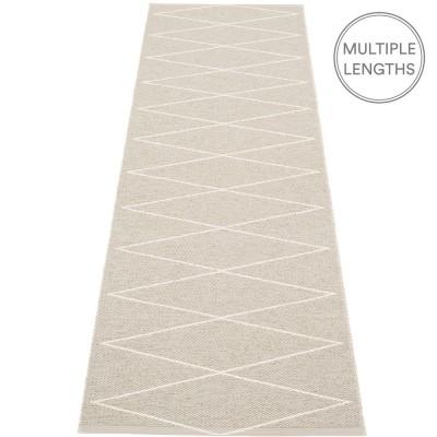 Pappelina Max Runner Linen & Vanilla - 70 x 240 cm