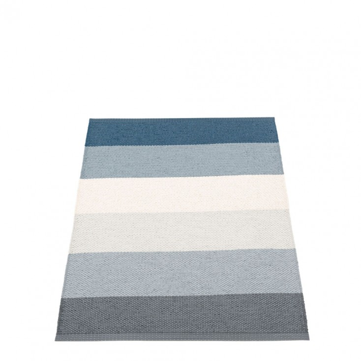 Pappelina Molly Ocean Grey Runner - 70 x 100 cm