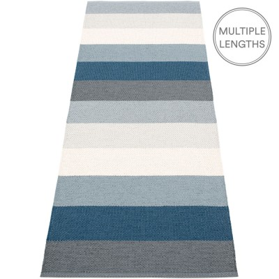 Pappelina Molly Ocean Grey Runner - 70 x 200 cm