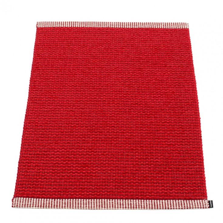 Pappelina Mono Dark Red : Red Mat - 60 x 85 cm