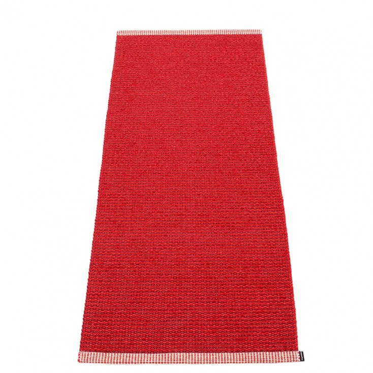 Pappelina Mono Dark Red : Red - 60 x 150 cm