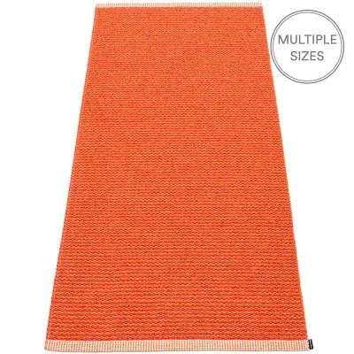 Pappelina Mono Pale Orange : Coral Red - 85 x 260 cm