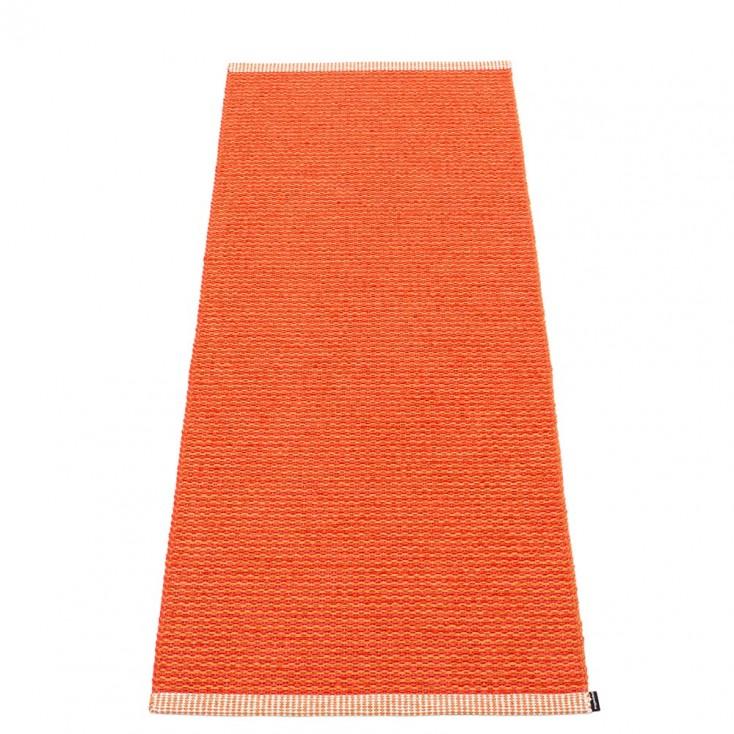 Pappelina Mono Pale Orange : Coral Red - 60 x 150 cm