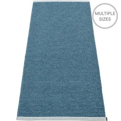 Pappelina Mono Ocean Blue : Dove Blue Runner - 85 x 260 cm