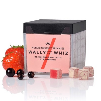 Wally & Whiz Nordic Gummies - Blackcurrant with Strawberry