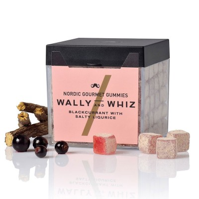 Wally & Whiz Nordic Gummies - Blackcurrant with Salty Liquorice