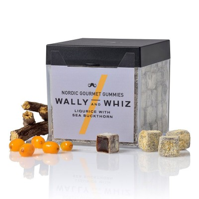 Wally & Whiz Nordic Gummies - Liquorice with Seabuckthorn