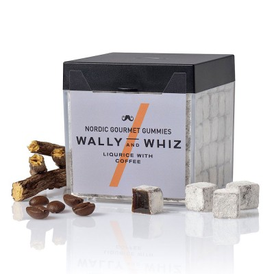 Wally & Whiz Nordic Gummies - Liquorice with Coffee