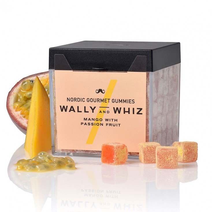 Wally & Whiz Nordic Gummies - Mango with Passion fruit