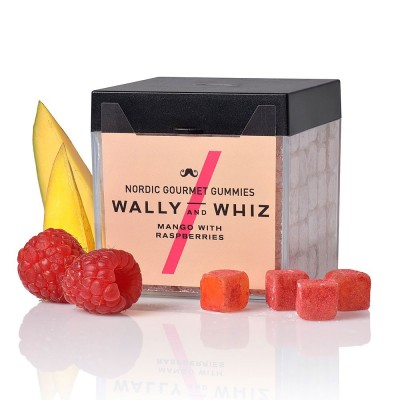Wally & Whiz Nordic Gummies - Mango with Raspberries