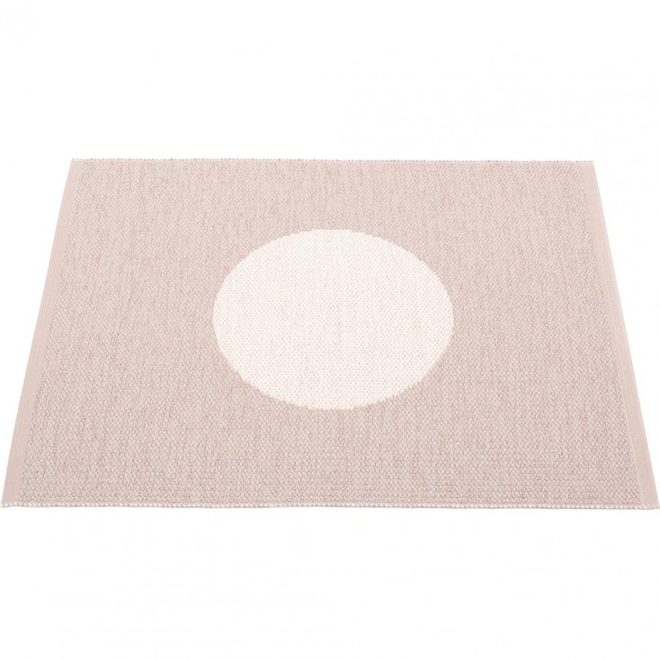 Pappelina Vera Small One Mat - Pale Rose - 70 x 90 cm