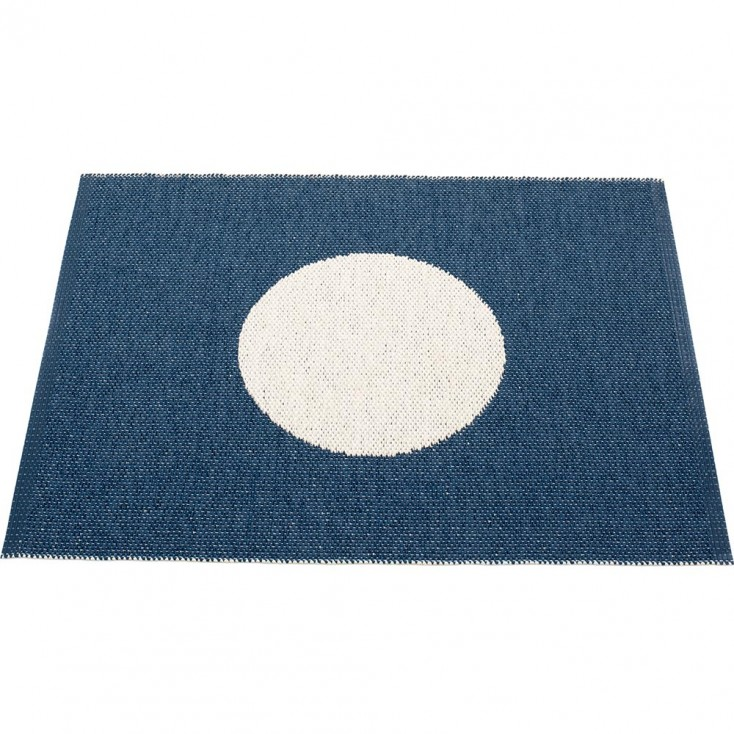 Pappelina Vera Small One Ocean Blue Mat