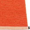 Pappelina Mono Large Rug - Pale Orange