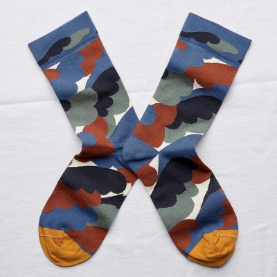 Bonne Maison Socks - Natural Camo