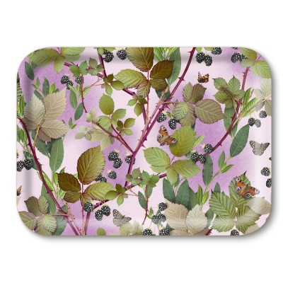 Michael Angove Blackberry Breakfast Tray By Jamida