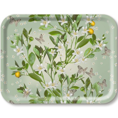 Michael Angove Orange Blossom Serving Tray By Jamida