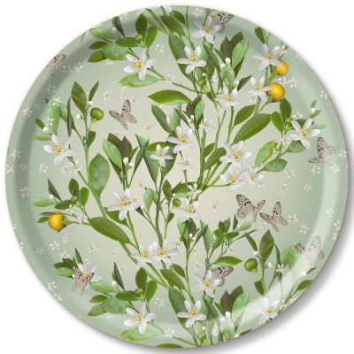 Michael Angove Orange Blossom Ø 39 cm Tray By Jamida