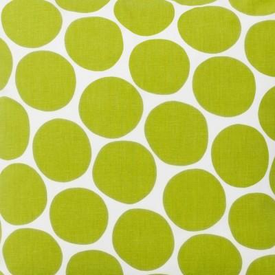 Fabric Remnant - Pom Pom Green - 1 Metre