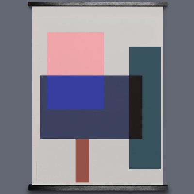 Paper Collective Wrong Geometry 02 Art Print