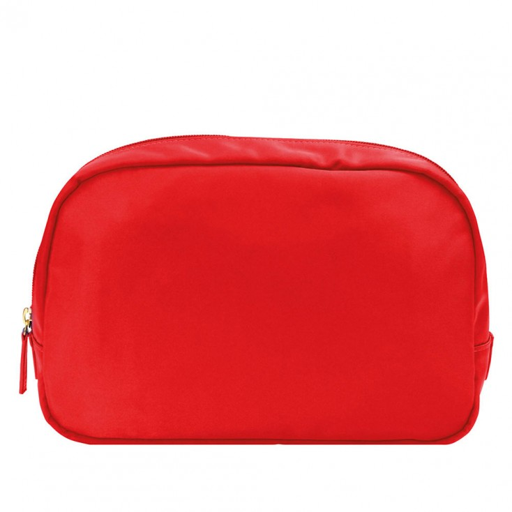 Chi Chi Fan Large Easy Travel Wash Bag - Poppy Red