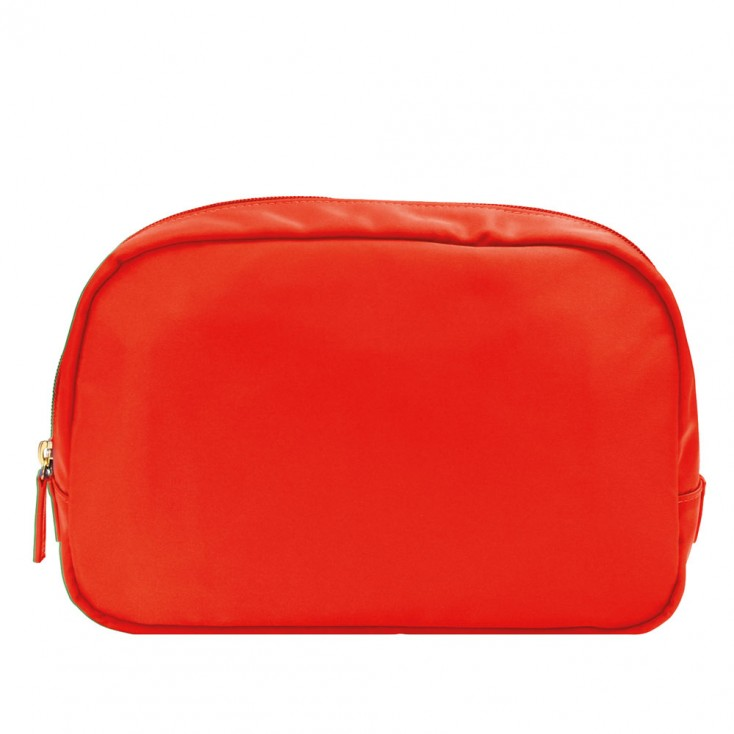 Chi Chi Fan Large Easy Travel Wash Bag - Coral