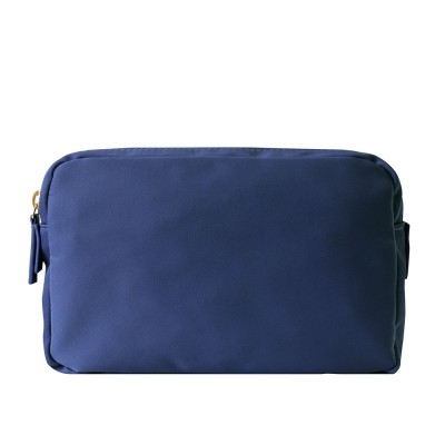 Chi Chi Fan Large Easy Cosmetic Bag - Navy Blue