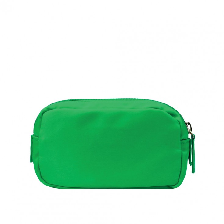 Chi Chi Fan Small Easy Cosmetic Bag - Grasshopper