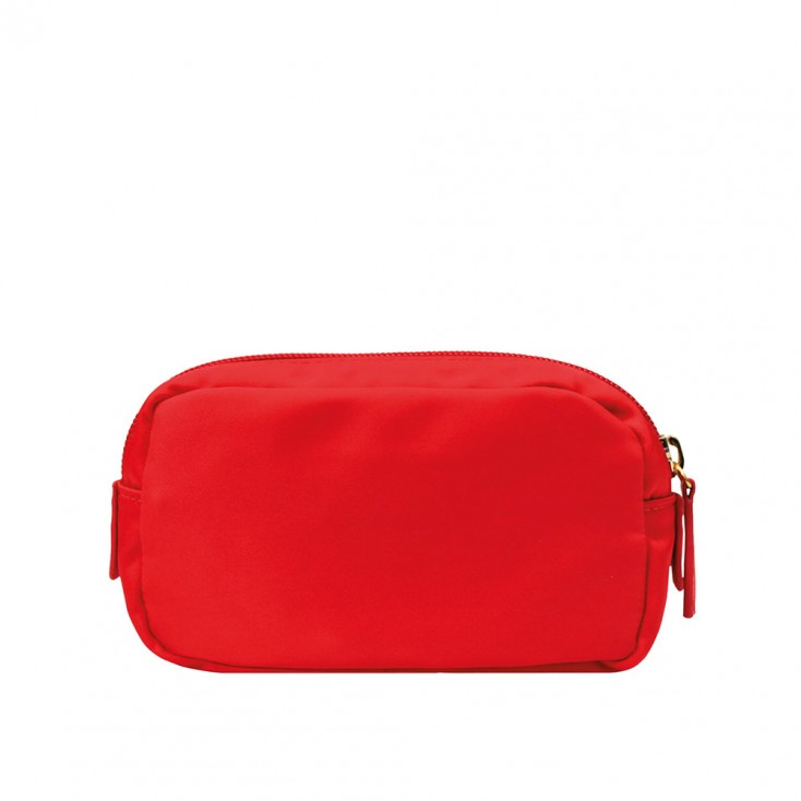 Chi Chi Fan Small Easy Cosmetic Bag - Poppy Red