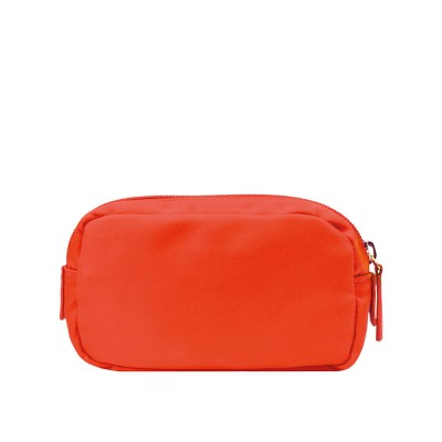 Chi Chi Fan Small Easy Cosmetic Bag - Coral