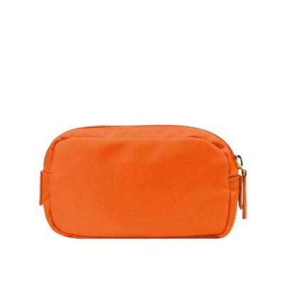 Chi Chi Fan Small Easy Cosmetic Bag - Orange