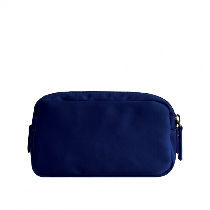 Chi Chi Fan Small Easy Cosmetic Bag - Navy Blue