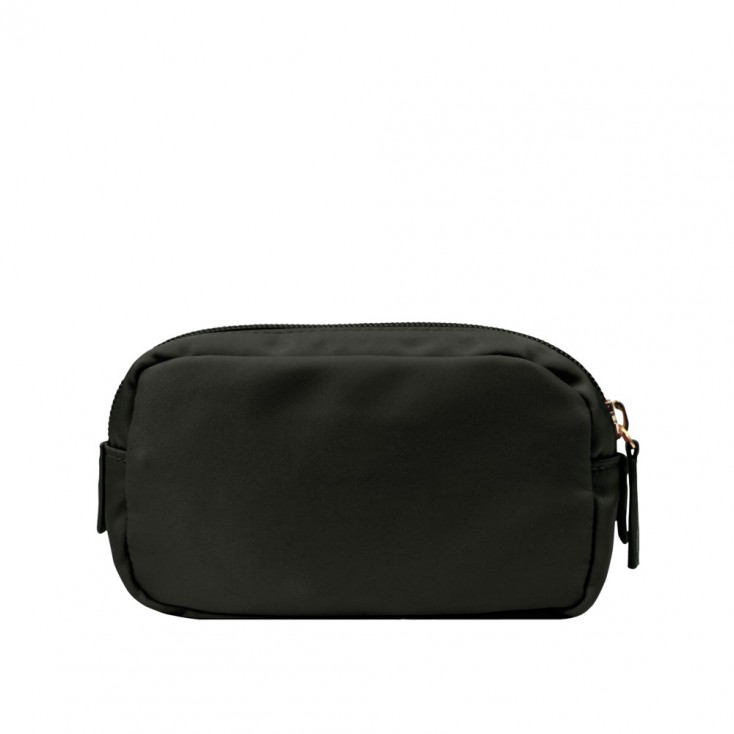 Chi Chi Fan Small Easy Cosmetic Bag - Black