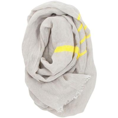 Lapuan Kankurit Usva Scarf - Linen & Yellow