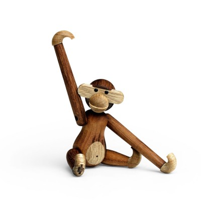 Kay Bojesen Mini Monkey By Rosendahl - Teak