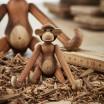 Kay Bojesen Mini Monkey By Rosendahl - Teak