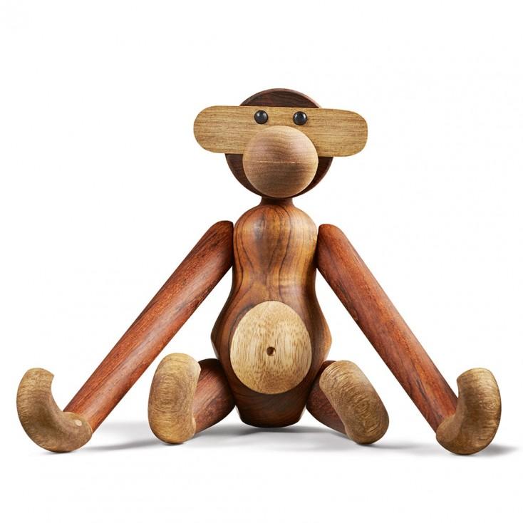 Rosendahl Teak Monkey By Kay Bojesen - Small