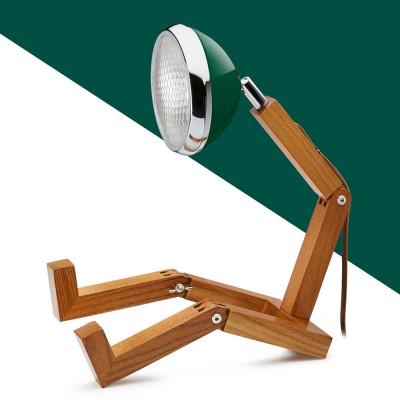 Mr. Wattson LED Table Lamp - Chiltern Green