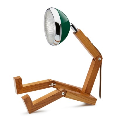Mr. Wattson LED Table Lamp - Chiltern Green