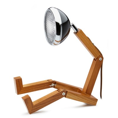 Mr. Wattson LED Table Lamp - Fashion Black