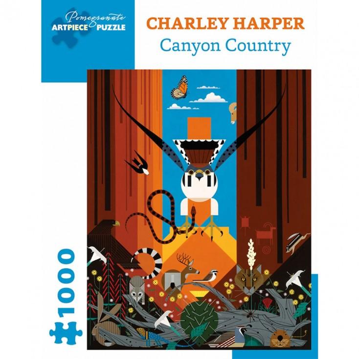 Charley Harper Canyon Country Jigsaw