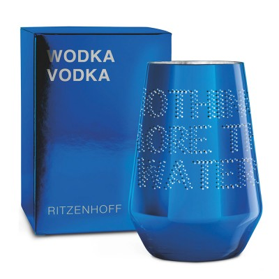 Ritzenhoff VODKA Glass by Justus Oehlet