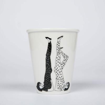 Helen B Porcelain Beaker - Yoga
